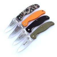 Ganzo Нож Ganzo G734 (черный, зеленый, оранжевый, камуфляж)