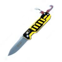 Ganzo Нож Ganzo G735 (черный, зеленый, оранжевый, черно-желтый)