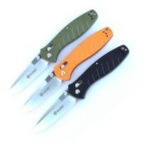 Ganzo Нож Ganzo G738 (черный, зеленый, оранжевый)