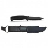 Нож Morakniv Companion Tactical BlackBlade, нерж. сталь, черный клинок