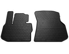 Коврики в салон передние для BMW X3 G01 '18- резиновые (Stingray)