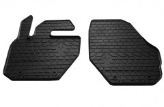 Коврики в салон передние для Volvo XC60 '17- резиновые (Stingray)