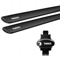 Багажник Kia Soul '09-13 на рейлинги Thule WingBar 969, черный