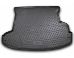 Коврик в багажник для Nissan X-Trail '01-07, полиуретановый (Novline / Element) черный