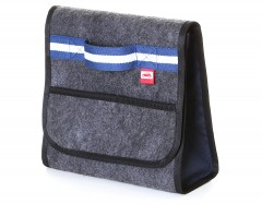 Сумка-органайзер в багажник X-MB Grey-Blue (Oneredcar)
