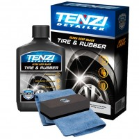 "Чернитель резины и пластика автомобиля, NANO-молочко ""TIRE & RUBBER"" Tenzi 300 мл."