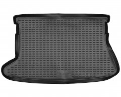 Коврик в багажник для Toyota Auris '06-12, полиуретановый (Novline / Element) чёрный