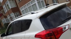 Рейлинги для Toyota RAV4 2013-2018, сrown - дизайн (Erkul)