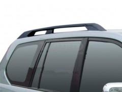 Рейлинги для Toyota LC Prado 120 '03-09, черные, пласт. концевик (AVTM)