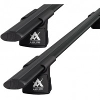 Багажник Infiniti FX (QX70) '09- на интегрированные на рейлинги Aguri Runner II, черный