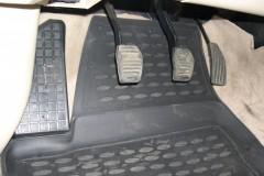 Коврики в салон для BYD F3 '05- полиуретановые, черные (Novline)