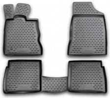 Коврики в салон для Chrysler PT Cruiser '00-10 полиуретановые, черные (Novline)