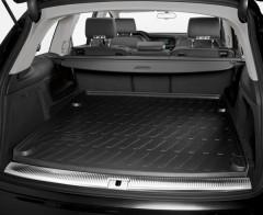 Коврик в багажник для Audi Q7 '05-14, резиновый, черный (VAG-Group) 4L7061180