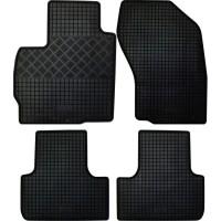 Коврики в салон для Mitsubishi ASX '10- резиновые, черные (Rigum)
