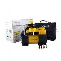 Компрессор автомобильный Solar AR210 c LED-фонарем