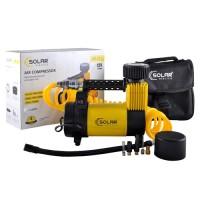Компрессор автомобильный Solar AR212 c LED-фонарем