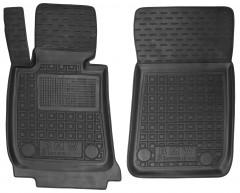 Коврики в салон передние для BMW 3 E90 '05-11 резиновые, черные (AVTO-Gumm)