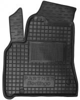 Коврик в салон водительский для Citroen Berlingo '10- 1+2 резиновый, черный (AVTO-Gumm)