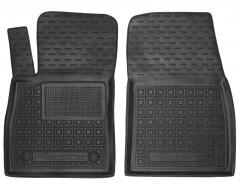 Коврики в салон передние для Ford Fiesta '18- резиновые, черные (AVTO-Gumm)