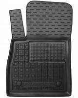 Коврик в салон водительский для Ford Fiesta '18- резиновый, черный (AVTO-Gumm)