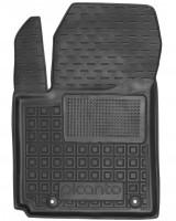 Коврик в салон водительский для Kia Picanto '17- резиновый, черный (AVTO-Gumm)