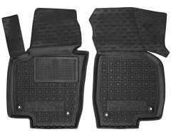 Коврики в салон передние для Volkswagen Passat USA 2011-2019, резиновые, черные (AVTO-Gumm)