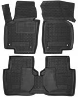 Коврики в салон для Volkswagen Passat USA 2011-2019, резиновые, черные (AVTO-Gumm)