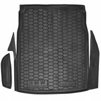 Коврик в багажник для BMW 5 E60 '03-10 седан, резиновый (AVTO-Gumm)