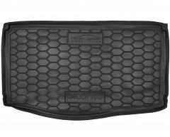 Коврик в багажник для Kia Picanto '17- нижний, резиновый (AVTO-Gumm)