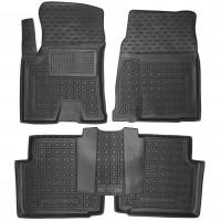 Коврики в салон для Great Wall Haval H2s '17- резиновые, черные (AVTO-Gumm)