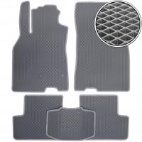 Коврики в салон для Renault Megane 3 '08-16, универсал, EVA-полимерные, серые (Kinetic)