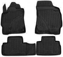 Коврики в салон для Ford Maverick '01- полиуретановые, серые (Novline / Element)
