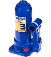 Домкрат автомобильный гидравлический бутылочный 3 т. в картонной упаковке IH-180350D (Витол)