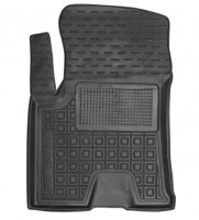 Коврик в салон водительский для Great Wall Haval H2s '17- резиновый, черный (AVTO-Gumm)