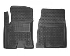 Коврики в салон передние для Great Wall Haval H2s '17- резиновые, черные (AVTO-Gumm)