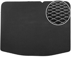 Коврик в багажник для Suzuki Vitara '15-, нижний, EVA-полимерный, черный (Kinetic)