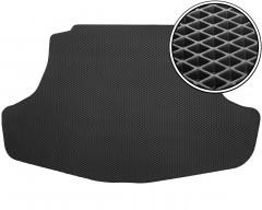 Коврик в багажник для Toyota Camry V70 '18-, EVA-полимерный, черный (Kinetic)