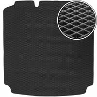 Коврик в багажник для Volkswagen Jetta VI '10-, EVA-полимерный, коврик прямоугольный, черный (Kinetic)