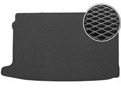 Коврик в багажник для Volkswagen Polo '09-17 хетчбек, верхний, EVA-полимерный, черный (Kinetic)