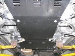 Фото 1 - Защита двигателя и КПП, редуктора, радиатора для Jeep Commander '06-10, V-3,0 CRD, АКПП (Кольчуга) Zipoflex