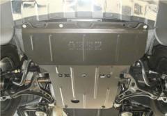 Фото 2 - Защита двигателя и КПП, радиатора, редуктора для Jeep Grand Cherokee '11-, V-3,0D (Кольчуга) Zipoflex