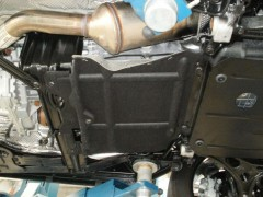 Фото 3 - Защита двигателя и КПП, радиатора, редуктора для Jeep Grand Cherokee '11-, V-3,0D (Кольчуга) Zipoflex