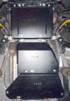 Фото 2 - Защита двигателя и КПП, раздатки для Jeep Grand Cherokee '13-, V-6,4, АКПП (Кольчуга) Zipoflex