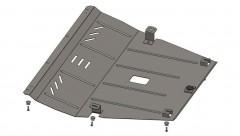 Фото 1 - Защита двигателя и КПП, радиатора для Jeep Cherokee KL '14-, V-2,0CRDI, АКПП (Кольчуга) Zipoflex