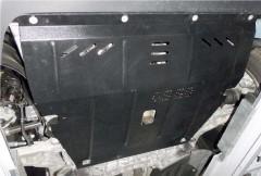 Фото 2 - Защита двигателя и КПП, радиатора для Jeep Cherokee KL '14-, V-2,0 CRDI, АКПП (Кольчуга) Zipoflex
