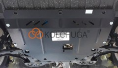 Фото 2 - Защита двигателя и КПП, радиатора для Kia Picanto '17-, V-1,0; 1,2, АКПП, МКПП (Кольчуга) Zipoflex