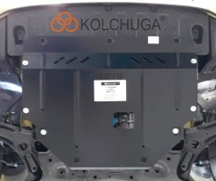 Фото 3 - Защита двигателя и КПП, радиатора для Kia Picanto '17-, V-1,0; 1,2, АКПП, МКПП (Кольчуга) Zipoflex