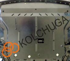 Фото 2 - Защита двигателя и КПП, радиатора для Kia Stonic '18-, V-1,4i, МКПП (Кольчуга) Zipoflex