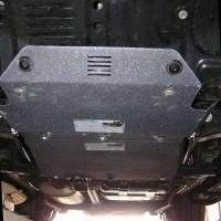 Фото 2 - Защита двигателя и радиатора для Lexus LX 470 '02-07, V-4,7 (Кольчуга) Zipoflex