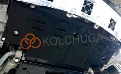 Фото 2 - Защита радиатора для Mercedes-Benz GL-Class X164 '06-11, V-4,6і; 5,5і, АКПП, 4х4, амер, версия (Кольчуга) Zipoflex